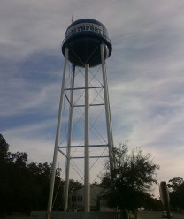southport north carolina water tower
